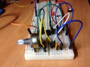 Montaje circuito 555