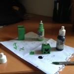 Creeper 3D - Pintado