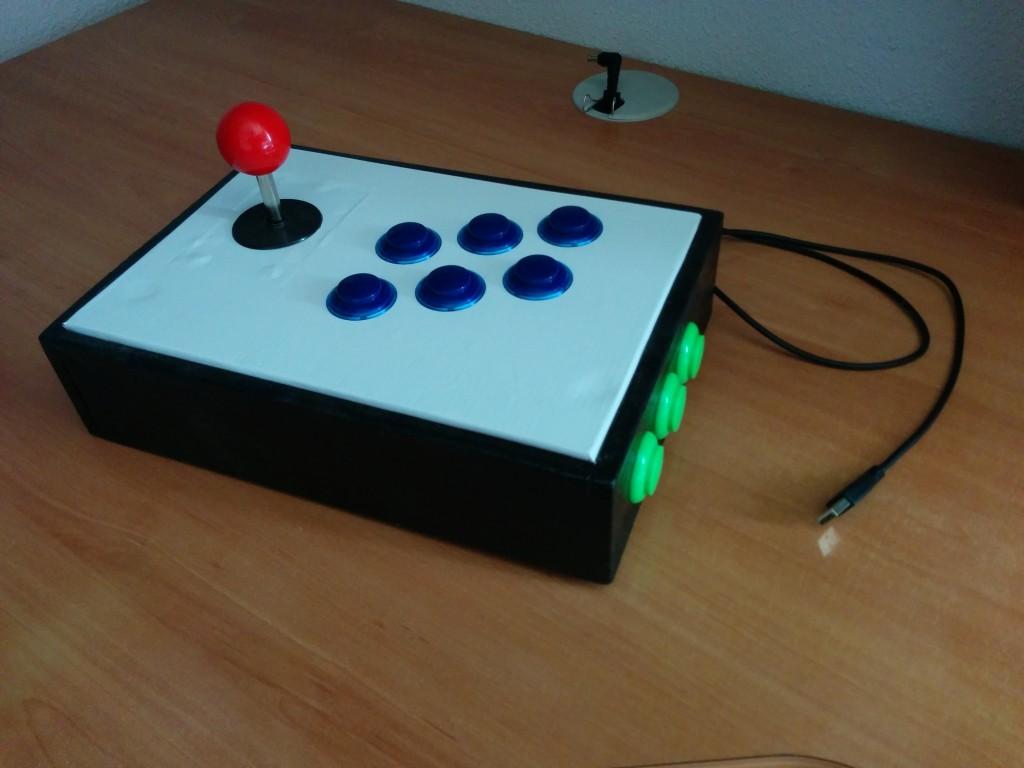 Proyecto: Mando arcade casero de 9 botones – Parte 3: Diagrama y código