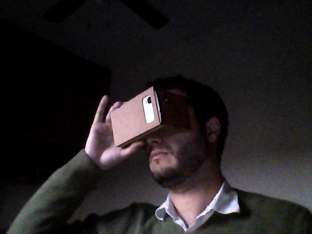 Probando las Google Cardboard