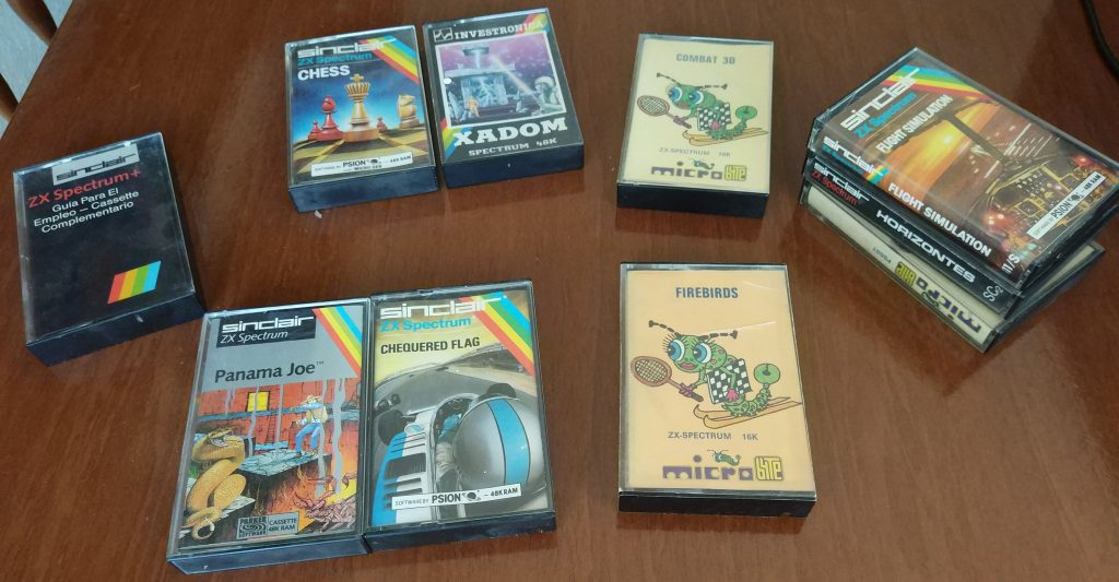 Cintas ZX Spectrum
