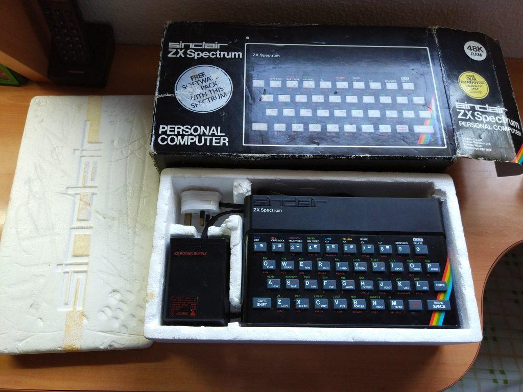 ZX Spectrum Caja