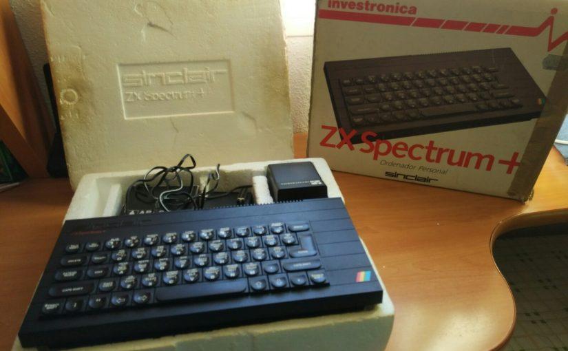 Reparando un ZX Spectrum + – Parte 1: Teclado