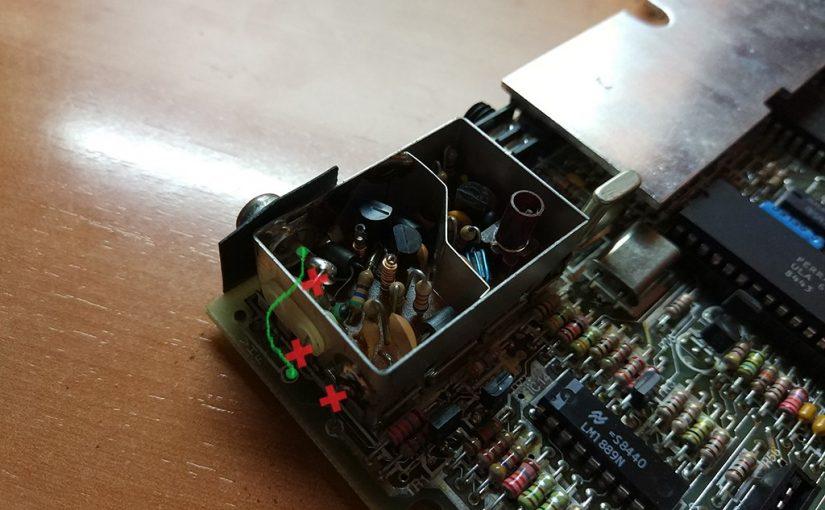 Reparando un ZX Spectrum + – Parte 3: Composite Mod